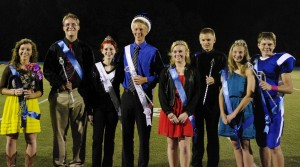 SCA 2013 Homecoming Court, pictured left to right: .......