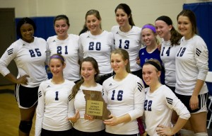 Volleyball District Champs final
