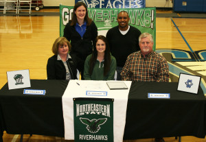 SCA Senior Rachel Bacon signs letter of intent to Northeastern University
