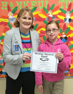 Christian Character 1st Quarter Sayge Romines