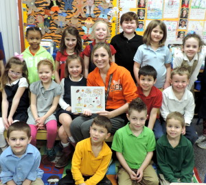 Kindergarten Class' Book is Finalist in National Competition