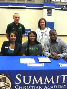 Volleyball Player Savvy Hughes Letter of Intent