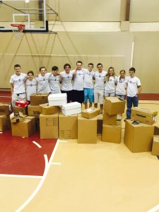 SCA's teens4good, Inc. packed thousands of books to donate to WLPP and a local library.  They are planning a fundraiser to cover the cost of shipping the books to China.