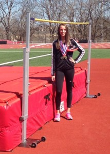 SCA Junior Carlie Queen Chosen as First Team for All-Metro Track and Field.