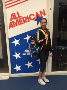 Queen medaled for 6th at the New Balance Indoor Nationals to receive All-American Status