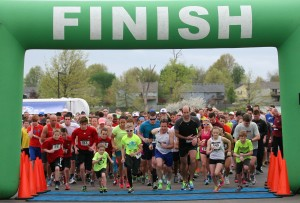 Over 800 were in attendance at SCA's Eagle Egg 5K last year.  SCA will host their seventh annual Eagle Egg 5K on April 16 at Frontier Justice.