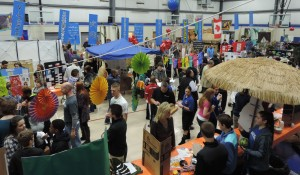 Hundreds gather at SCA's 4th annual International Festival, sampling foods and experiencing sights from around the world.