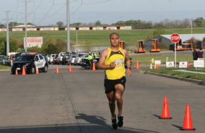 Hugo Romanis was the 2016 Eagle Egg 5K top finisher with a completion time of 18:08.