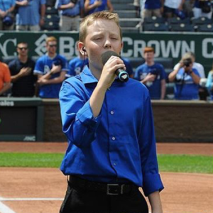 SCA 7th Grade student Hudson Harris sang the National Anthem at the Royals game on Sunday, September 4.